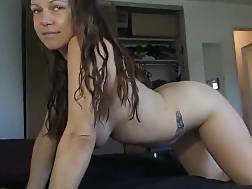 9 min - Cute boobed babe lets him cum inside
