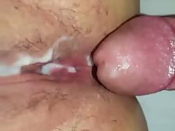 3 min - Jizzing her vagina