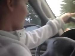 4 min - Cheating girlfriend in car with seducer