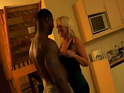 39 min - Stunning blond MILF allows anal & facial with BBC
