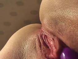 1 min - My horny wife playing with her vibrator