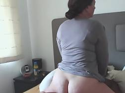 5 min - Hubby watches his wifey takes 1st time BBC