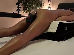 35 min - My wife buttplug four dildos fuck machine gushing orgasms