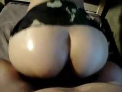 2 min - Boning super sexy Argentinian bootyful chick in a doggy pose
