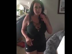 12 min - Beautiful boobed wifey gets a naughty spanking after a sucks