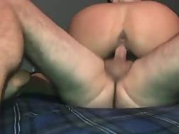 9 min - Hot babe is going to ride him until he jizzes