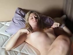 3 min - Solo blondie nymph jerking for her seducer