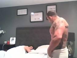 16 min - Buff guy penetrating the neighbors naughty sleazy wifey
