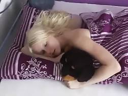 7 min - Blond nymph wakes up and lets me fuck her tight vagina