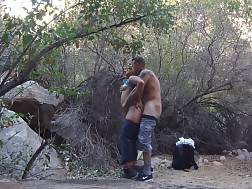 5 min - Amazing amateur couple in the forest having oral xxx