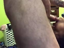4 min - Shoving a cock deep inside the girls throat