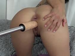13 min - Beautiful dark haired just got her new drill machine