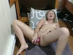 11 min - Busty blond & her pick fucktoy having joy on webcam