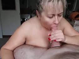4 min - My cock looks nice between big mature titties
