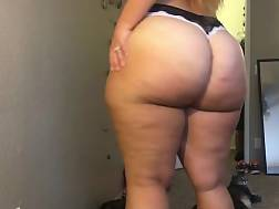 3 min - Round ass amateur honey showing off her BUTT