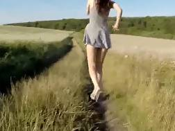 5 min - Sunny days are ideal for sucking hard cocks