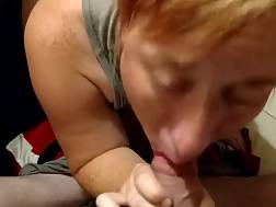 4 min - Sucked Off By An Experienced Mature Before sex