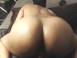 10 min - Spread Black chick Is Playing With Her porn dildo