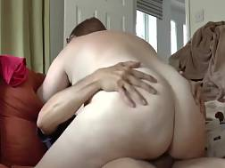 7 min - Bbw wife Rides Her husband In The Cowgirl pose