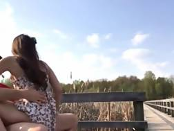 6 min - So what if someone can see us having xxx outdoors