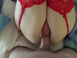 12 min - Busty girlie With Pink Hair & Red underwear Gets drilled Hard