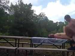 7 min - Amateur Couple likes A Lovemaking Session Near The woods