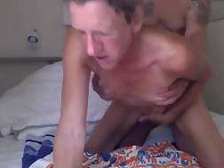 3 min - Old guy Gets To Lick and penetrate His naughty Mature slut