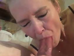 7 min - Blond wife enjoys Gobbling On Her Hubbys Erect Schlong