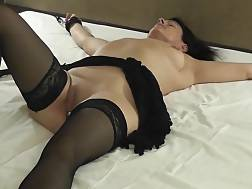 15 min - Mature In Stockings sucks On Her Husbands cock Before penetrating