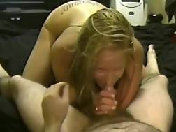 20 min - She loves To Eat His pecker While He Films Her