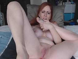 11 min - Boobed red-haired nymph likes To Pleasure Her ass