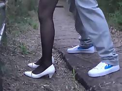 9 min - Outdoor Amateur Doggy Style drilling With A sweetheart