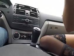 13 min - Sexual hj While He Is Driving His Car
