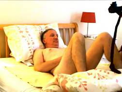 14 min - Bound Up Granddaddy Is Pleasured By An asian hotty