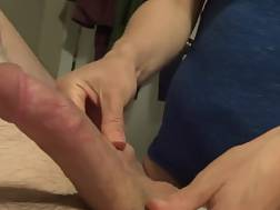6 min - Good handjob From A naughty wifey