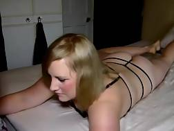 7 min - Saggy knockers wife jerks Me Off and BJ My Boner