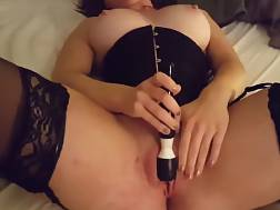 7 min - Sweetheart Fingers Her bald twat and Uses A fucktoy
