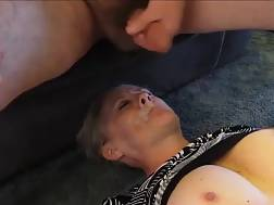 4 min - Facial For My nasty Submissive wifey On The Floor