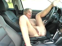 9 min - Spreading My Tunnel Outdoors While jerking By My Car