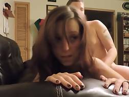 12 min - After A Blow She Will Get penetrated On The sofa