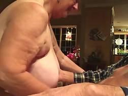 6 min - Boobed mature wifey suck her husbands prick on camera