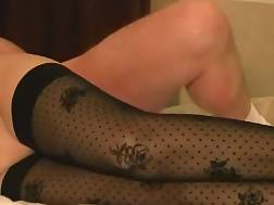 5 min - Mamma in sexual stockings gets penetrated hard & quick