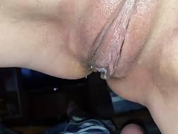 3 min - Gf rides my prick until my cum comes dripping out