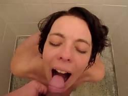 5 min - Nasty mom next door enjoys when I pee in her mouth