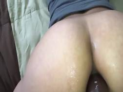 5 min - Helping my wifey prepare for rectal with some massive toys