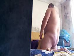 17 min - Fat dude bends his babe over & stuffs her doggy style