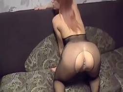 15 min - She first gives head & then gets banged doggy style