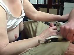 9 min - Grandma blowjob & sperm gulp down