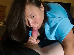 9 min - Asian mature gulping younger guys jizz
