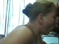 6 min - A little cum swallow to start off the day